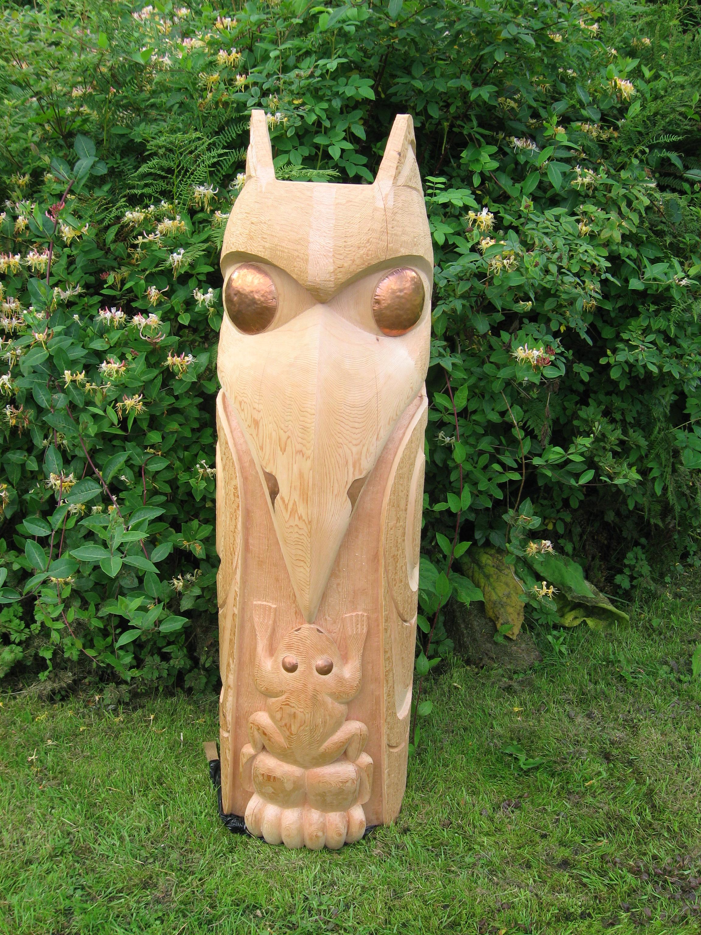 Raven Totem Pole Totem Poles Alexander
